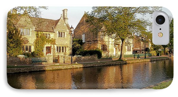 Bourton On The Water IPhone Case by Ron Harpham