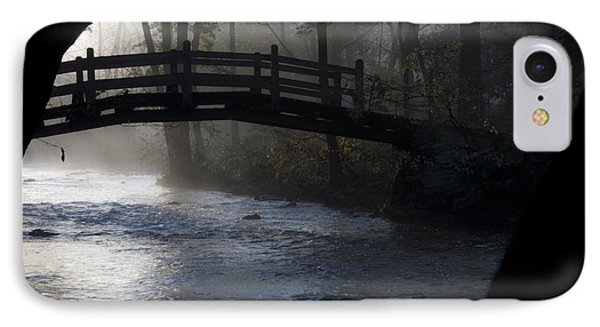 Bow Bridge At Valley Forge Phone Case by Bill Cannon