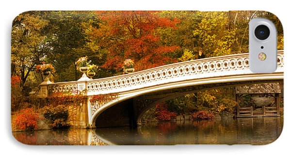 IPhone Case featuring the photograph Bow Bridge Beauty by Jessica Jenney