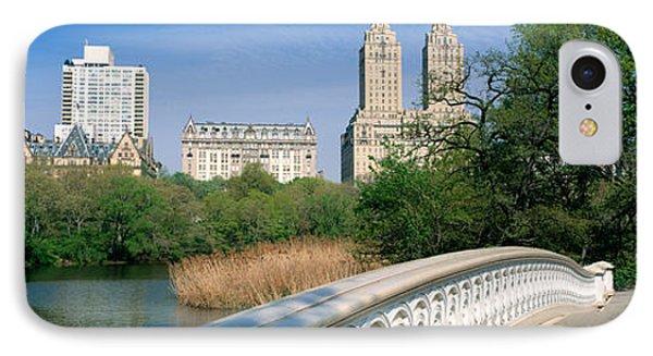 Bow Bridge, Central Park, Nyc, New York IPhone Case