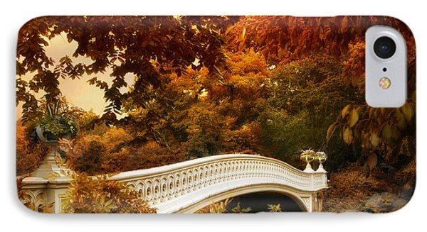 Bow Bridge Fall Fantasy IPhone Case