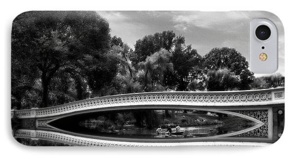 Bow Bridge In Monochrome IPhone Case by Jessica Jenney