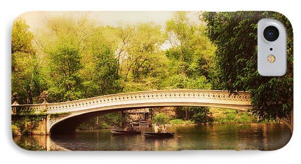 Bow Bridge Rowers IPhone Case