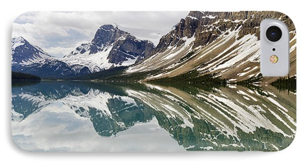 Bow Lake IPhone Case by Dee Cresswell