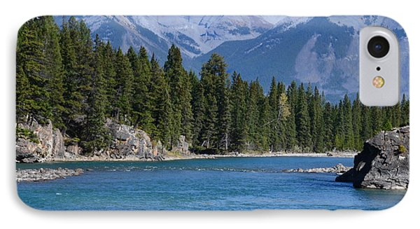 Bow River  IPhone Case by Cheryl Miller