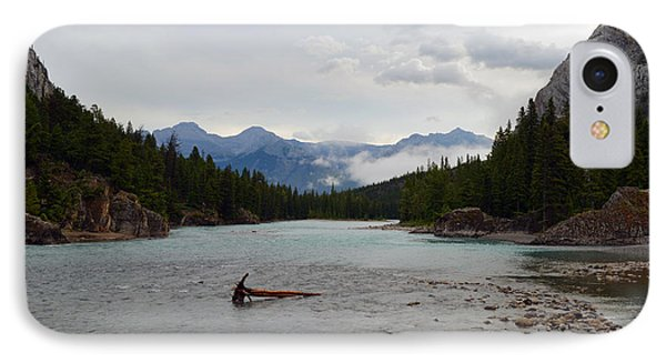 IPhone Case featuring the photograph Bow River by Yue Wang