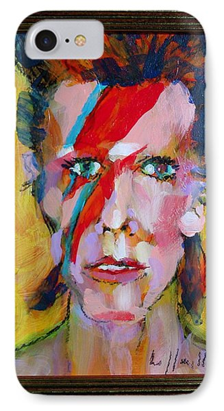 IPhone Case featuring the painting Bowie by Les Leffingwell