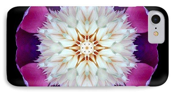 Bowl Of Beauty Peony II Flower Mandala IPhone Case by David J Bookbinder