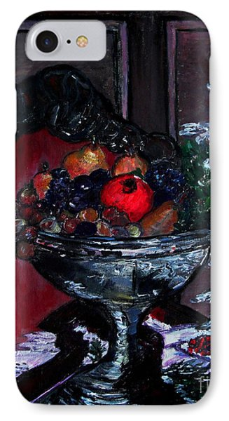 Bowl Of Holiday Passion IPhone Case by Helena Bebirian