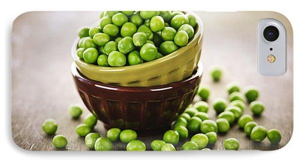 Bowl Of Peas Phone Case by Elena Elisseeva