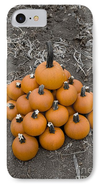 Bowling For Pumpkins IPhone Case by David Millenheft