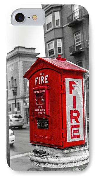 Box Alarm IPhone Case by Jim Lepard