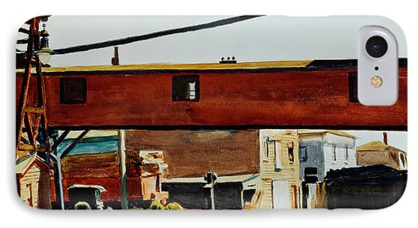 Box Factory IPhone Case by Edward Hopper