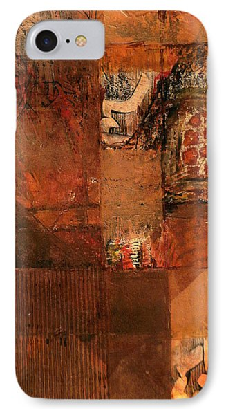 IPhone Case featuring the painting Box O' Rocks by Buck Buchheister