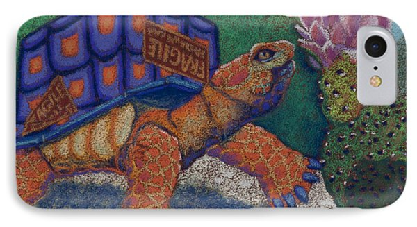 Box Turtle Phone Case by Tracy L Teeter