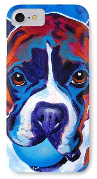 Boxer - Atticus IPhone Case by Alicia VanNoy Call