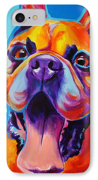 Boxer - Tyson IPhone Case by Alicia VanNoy Call