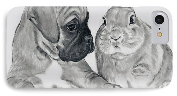 Boxer And Bunny IPhone Case