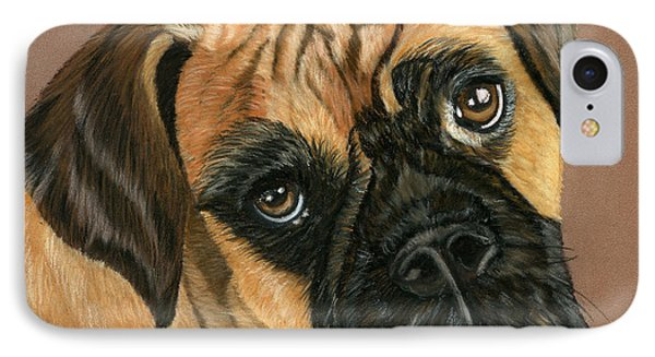 Boxer Dog Phone Case by Sarah Dowson