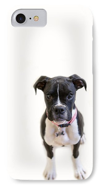 Boxer Girl 3 IPhone Case