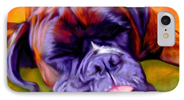 Boxer IPhone Case by Iain McDonald