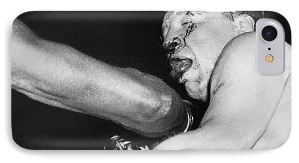 Boxer Near His Limit IPhone Case