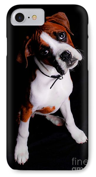 Boxer Pup Phone Case by Jt PhotoDesign