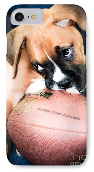 Boxer Puppy Cuteness Phone Case by Peggy  Franz