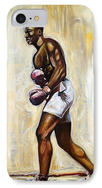IPhone Case featuring the painting Boxing by Emery Franklin
