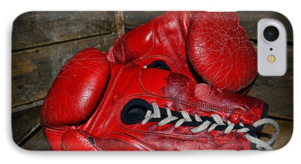 Boxing Gloves Phone Case by Paul Ward