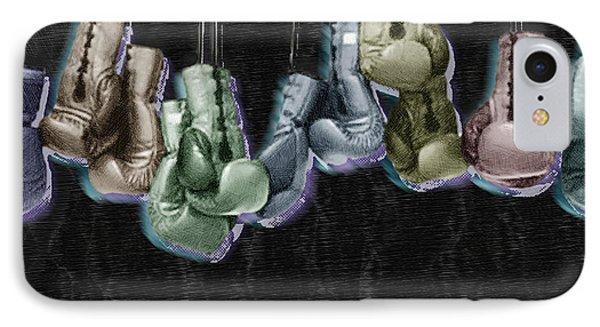 Boxing Gloves Phone Case by Tony Rubino
