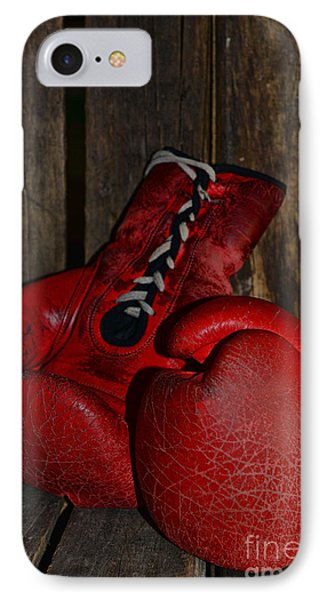 Boxing Gloves Worn Out Phone Case by Paul Ward
