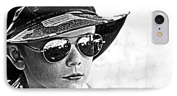 Boy In Aviators IPhone Case