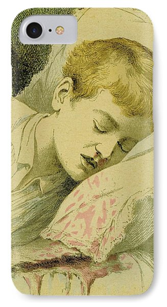 Boy With Haemophilia IPhone Case by Universal History Archive/uig