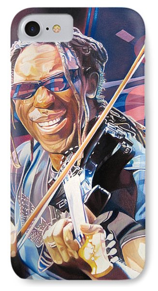 Boyd Tinsley And 2007 Lights Phone Case by Joshua Morton