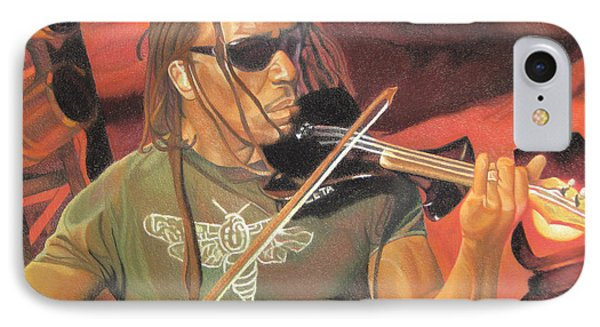 Boyd Tinsley At Red Rocks Phone Case by Joshua Morton