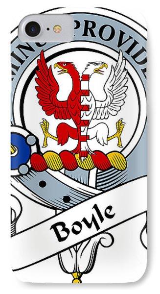 Boyle Clan Badge Phone Case by Heraldry