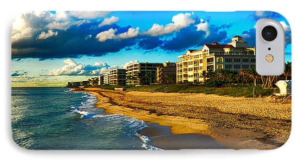 Boynton Beach South IPhone Case by Don Durfee
