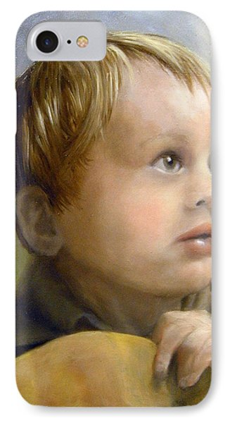 IPhone Case featuring the painting Boy's Wonder by Lori Ippolito