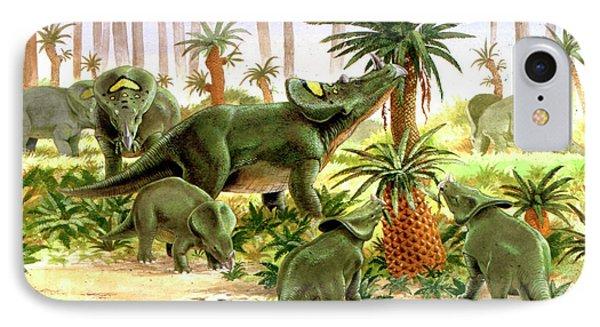 Brachyceratops Dinosaurs IPhone Case