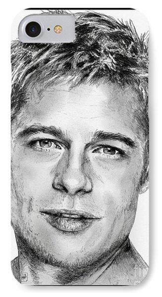 Brad Pitt In 2006 Phone Case by J McCombie