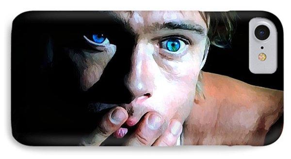 Brad Pitt In The Film The Mexican - Gore Verbinski 2001 IPhone Case by Gabriel T Toro