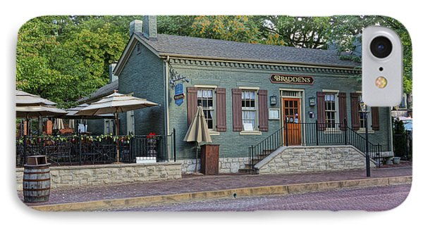 Braddens Main Street St Charles Mo Dsc00874  IPhone Case by Greg Kluempers