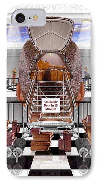 Brain Luggage 2 Phone Case by Mike McGlothlen