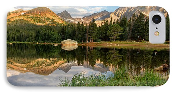 Brainard Lake Reflections IPhone Case