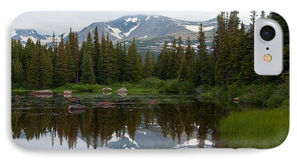 IPhone Case featuring the photograph Brainerd Lakes Spring Rain by Eric Rundle