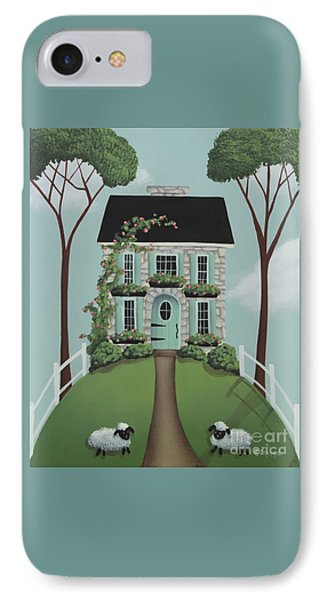 Brambleberry Cottage IPhone Case by Catherine Holman