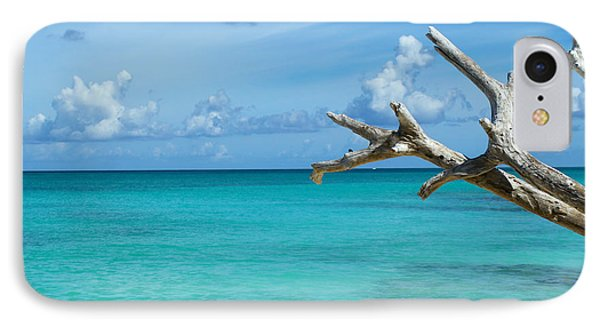 Branch Over The Caribbean IPhone Case