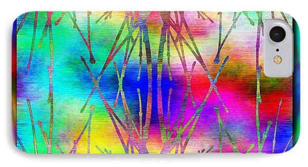 Branches In The Mist 7 Phone Case by Tim Allen