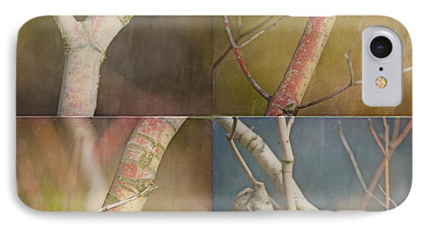 Branches Times Four Phone Case by Bonnie Bruno